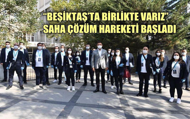 Rıza Akpolat: 'Beşiktaş'ta birlikte varız' diyerek saha çözüm hareketimizi başlattık