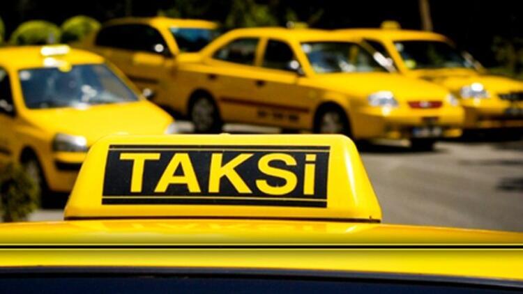 1 km'lik yola 200 TL isteyen taksi trafikten men edildi