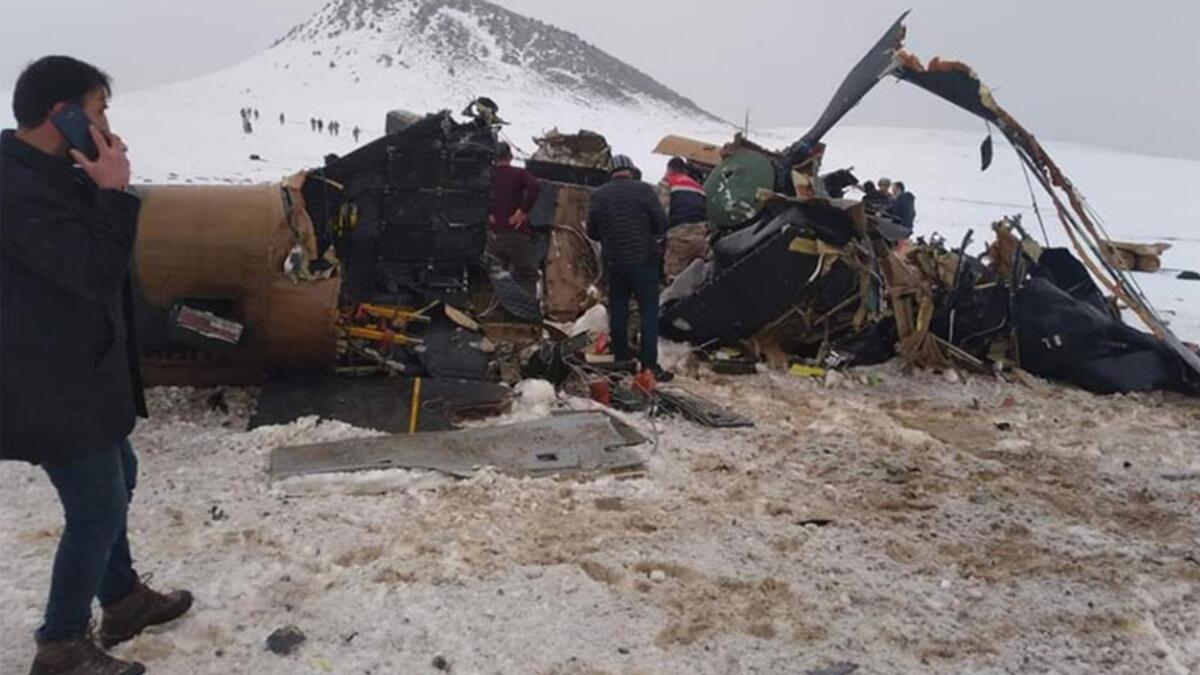 11 askerin şehit olduğu helikopter kazası TBMM gündeminde