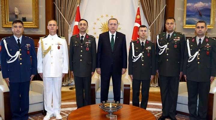 15 Temmuz'da Erdoğan'ın yerini söyleyen yaverleri tahliye edildi