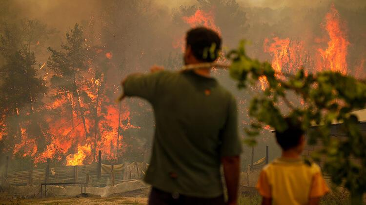 2 ilde orman yangınları için askeri personel görevlendirildi