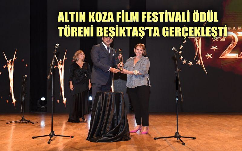 27. Uluslararası Adana Altın Koza Film Festivali Beşiktaş'ta gerçekleşti