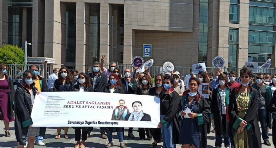 33 baro başkanından Ebru Timtik ve Aytaç Ünsal için çağrı