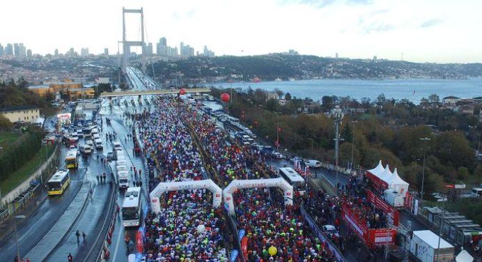 42. İstanbul Maratonu Pazar günü başlıyor: İşte trafiğe kapatılacak yollar