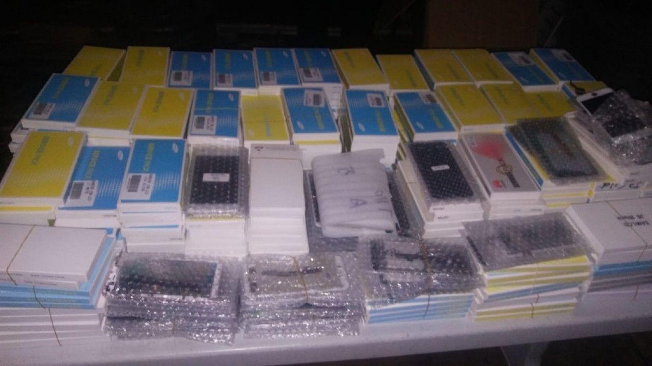 6 bin 228 kaçak telefon ele geçirildi