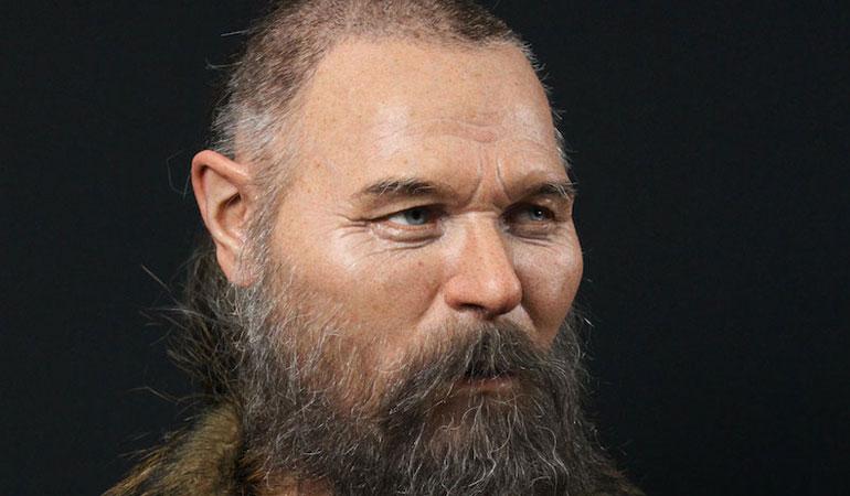 8 bin yıl önce kafatası tahta bir kazığa geçirilen bir erkek yeniden canlandırıldı