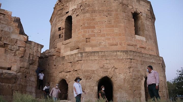 9 asırlık Harran Sarayı'nın kapısı ortaya çıktı