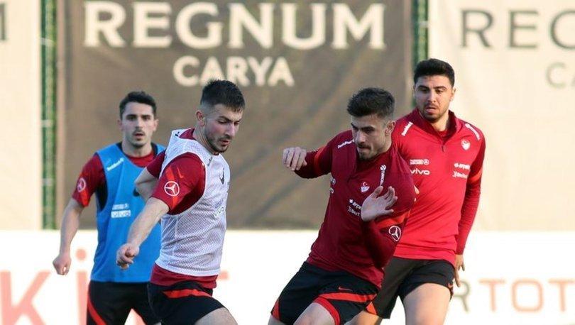 A Milli Futbol Takımı, hazırlıklarını sürdürdü
