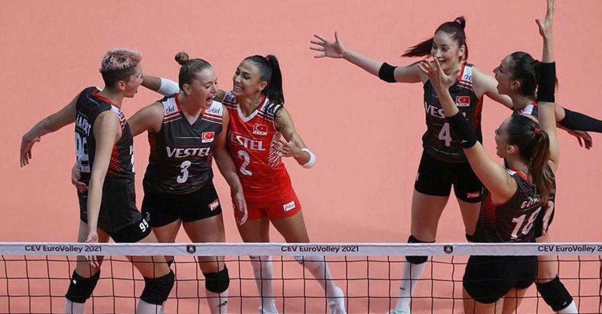A Milli Kadın Voleybol Takımı'nın yarı finaldeki rakibi Sırbistan