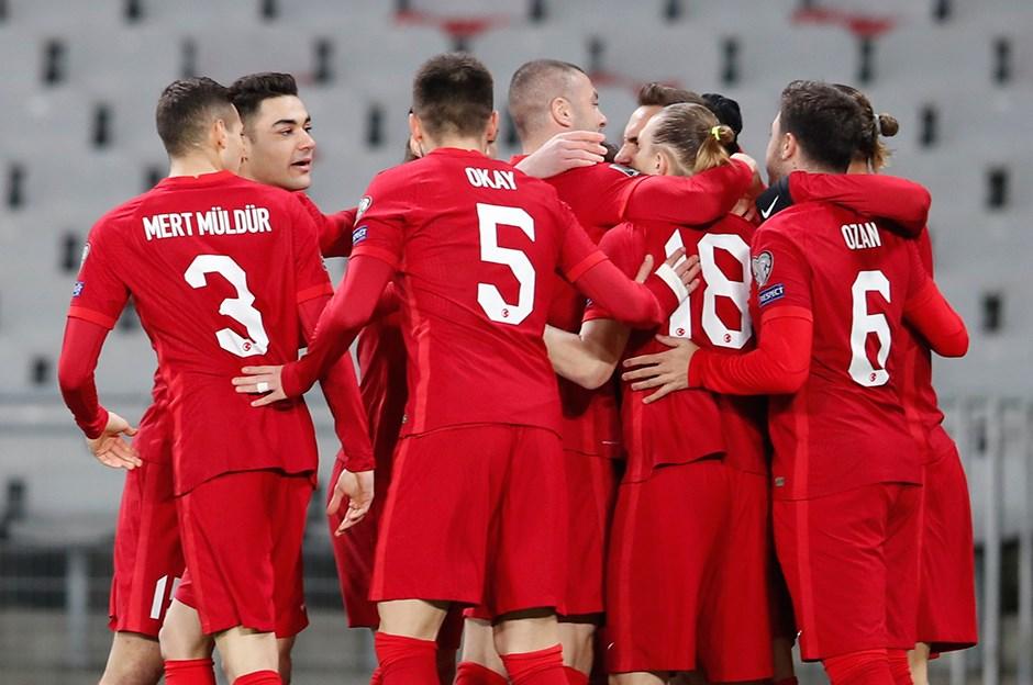 A Milli Takım, Azerbaycan'ı 2-1 mağlup etti