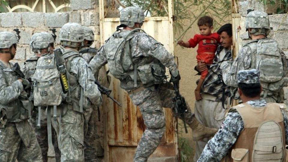 ABD askerleri Irak'tan çekiliyor