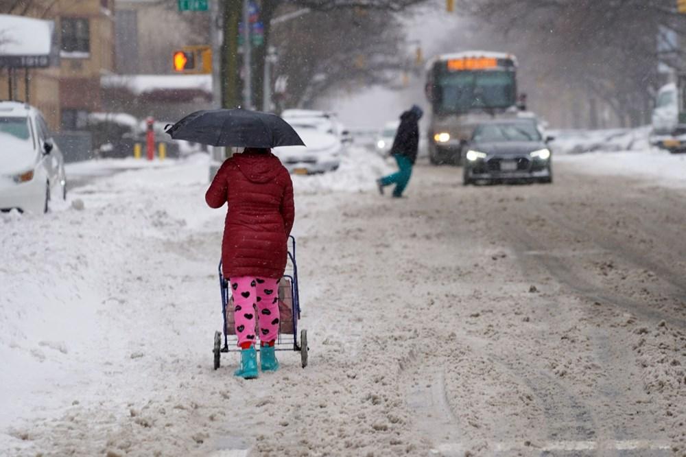 ABD'de kar fırtınası: 21 kişi öldü