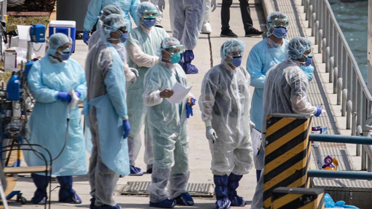 ABD'de son 24 saatte 81 bini aşkın koronavirüs vakası kaydedildi!