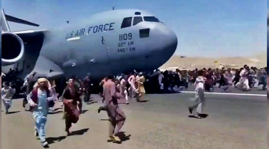 ABD Hava Kuvvetleri doğruladı: Tahliye uçağının iniş takımlarında insan vücudu parçaları bulundu