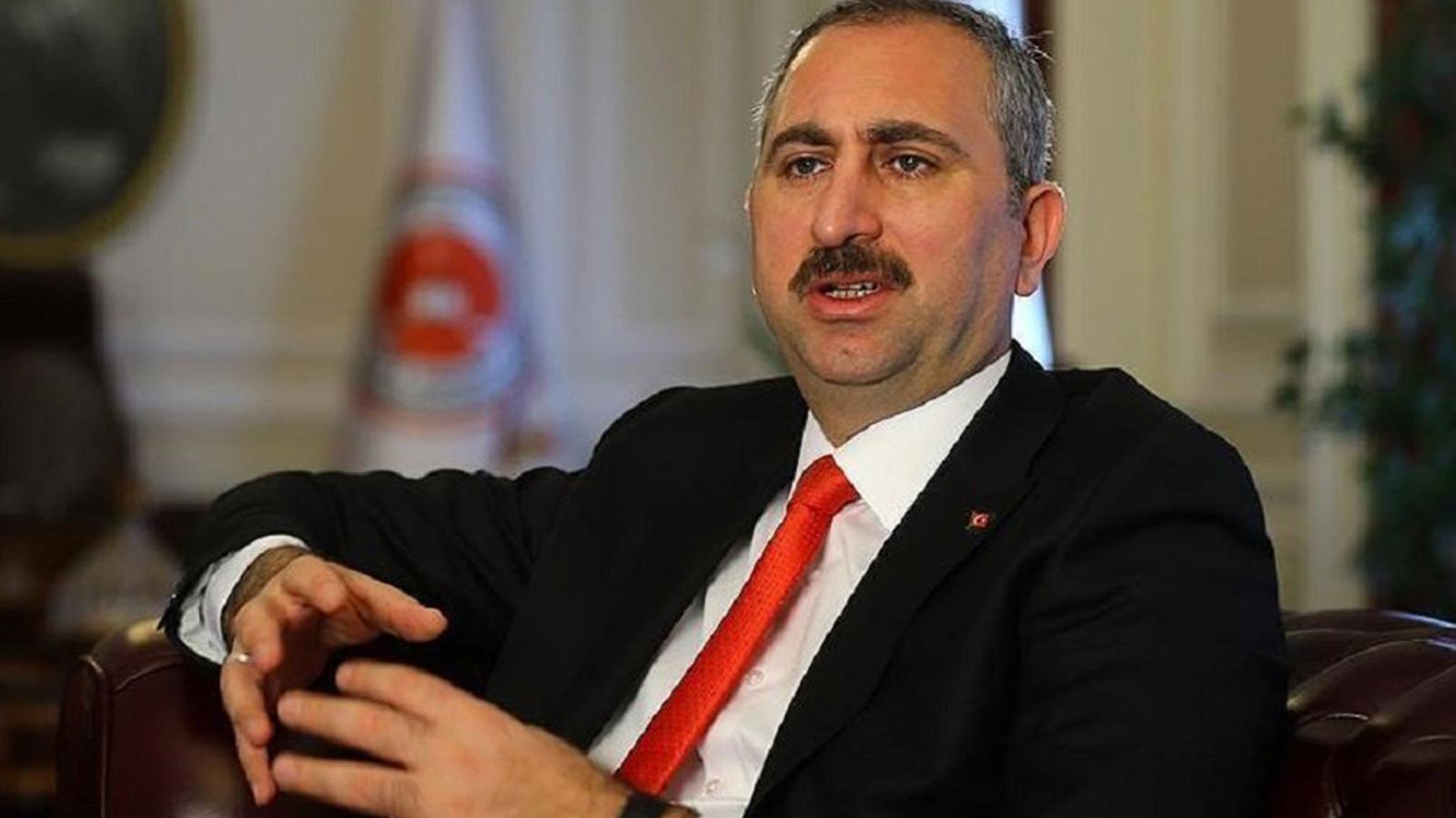 Adalet Bakanı Abdulhamit Gül Başak Demirtaş'a çirkin saldırıyı kınadı