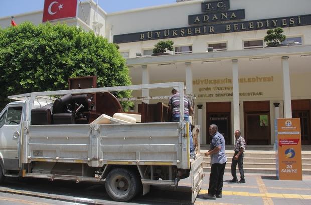 Adana Büyükşehir Belediye Başkanı Zeydan Karalar'ın makam odası haczedildi