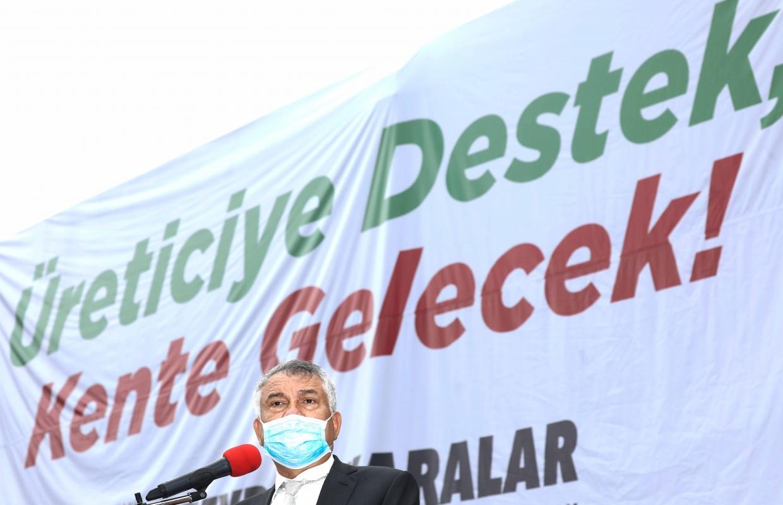 Adana Büyükşehir'den üreticiye destek geldi