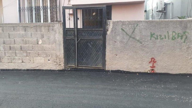 Adana'da Alevilerin evleri işaretlendi