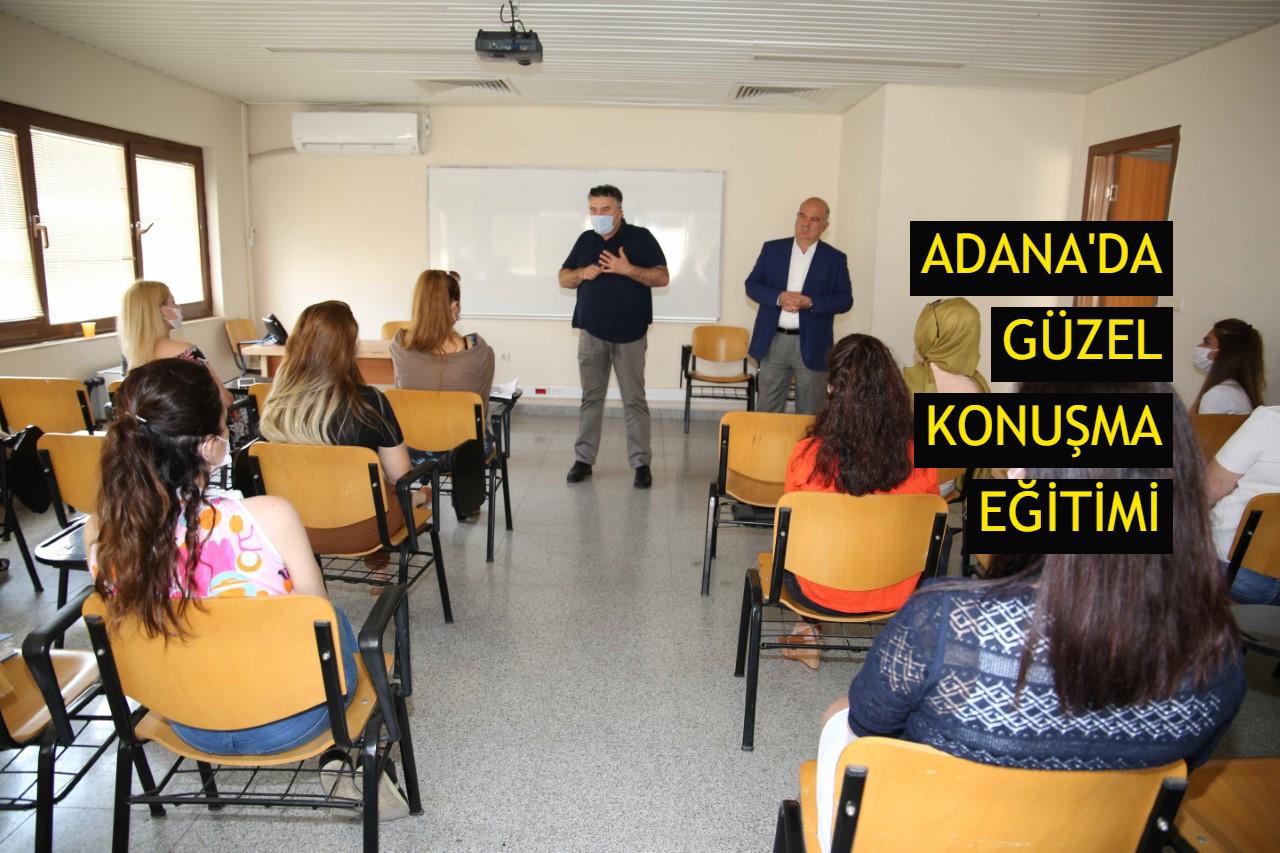 Adana'da güzel konuşma eğitimi