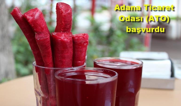 Adana'nın şalgam suyuna Coğrafi İşaret Belgesi