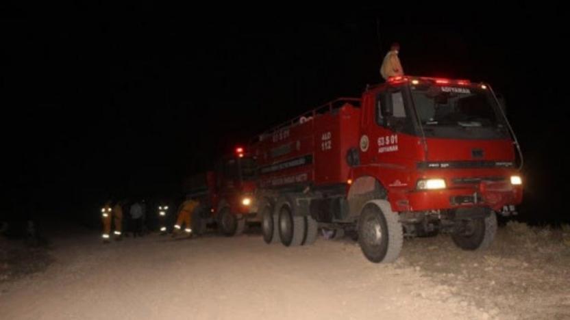 Adıyaman'da orman yangını: 2 hektarlık alan küle döndü