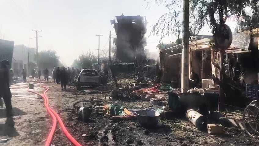 Afganistan Cumhurbaşkanı Yardımcısı Saleh'in konvoyuna bombalı saldırı: 10 ölü