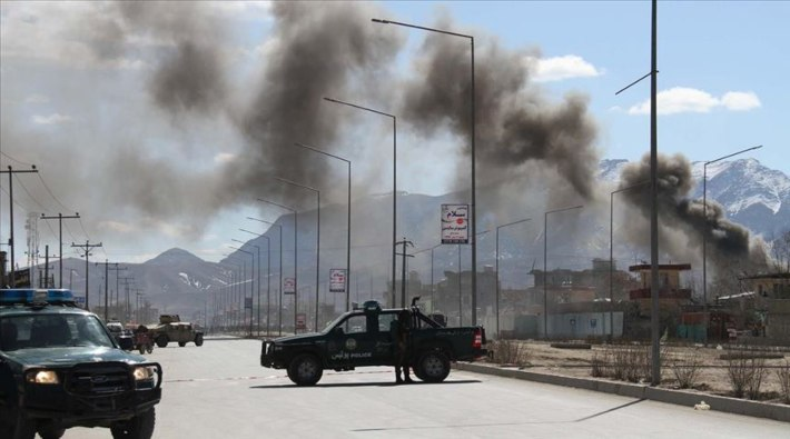 Afganistan'da şiddetli patlama: Çok sayıda ölü var