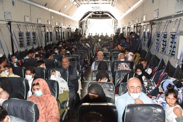 Afganistan'dan tahliye edilen 271 yolcu daha Türkiye'ye getirildi