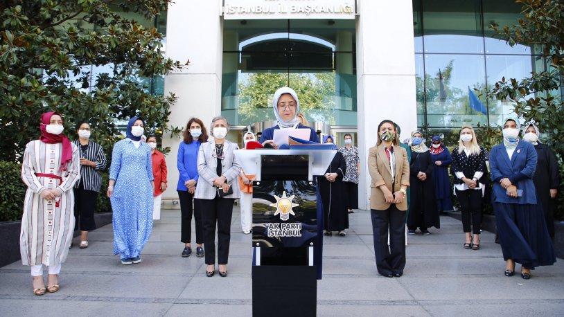 AK Parti Kadın Kolları'ndan Dilipak hakkında 81 ilde suç duyurusu