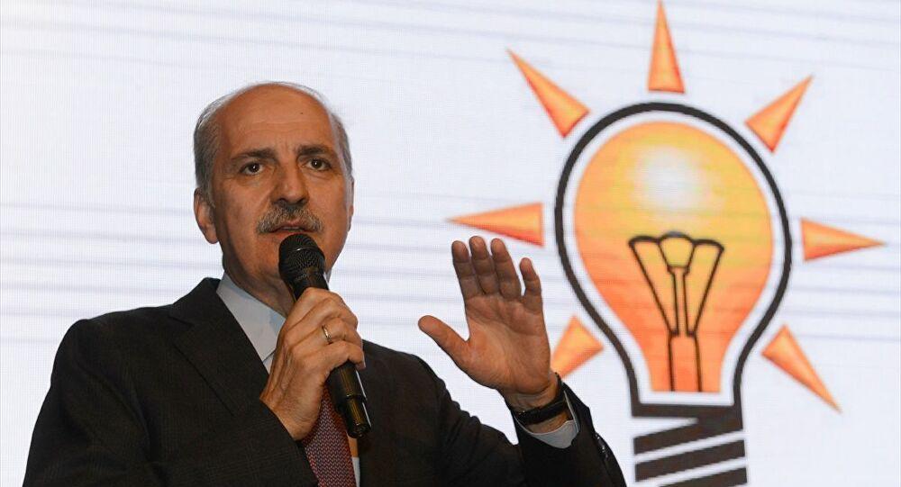 AK Parti'li Kurtulmuş: Bana sorarsanız Ayasofya bugün açılsın