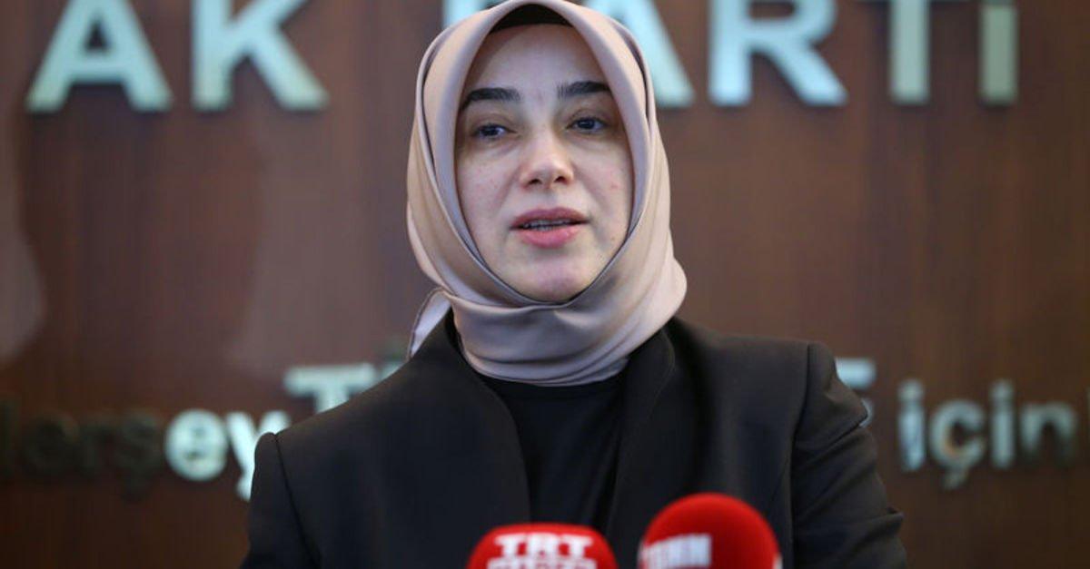 """AK Parti'li Zengin: AK Parti gelene kadar """"kadın"""" kelimesinin adı yoktu Türkiye'de"""
