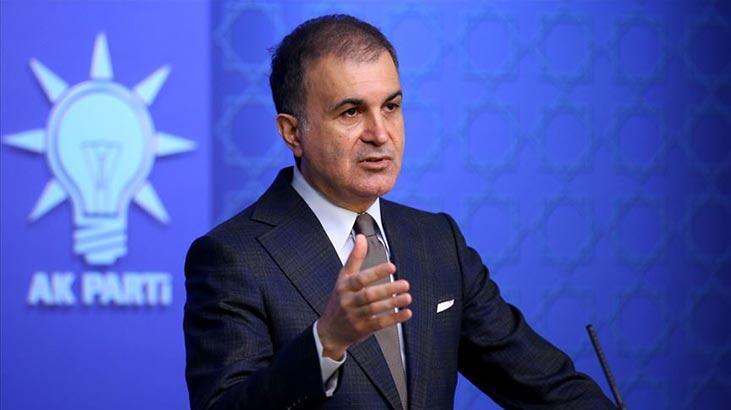 AK Parti Sözcüsü Ömer Çelik: Bu alçak saldırıyı şiddetle lanetliyoruz
