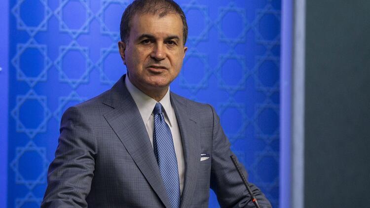 AK Parti Sözcüsü Ömer Çelik'ten yaptırım tepkisi: 'Milli güvenliğimiz konusunda pazarlık kabul etmiyoruz'