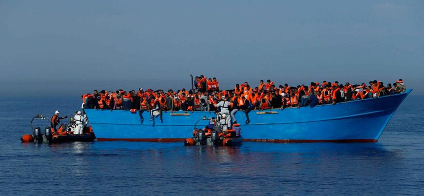 Akdeniz'de sığınmacıları taşıyan teknede ölü sayısı 100'e ulaştı