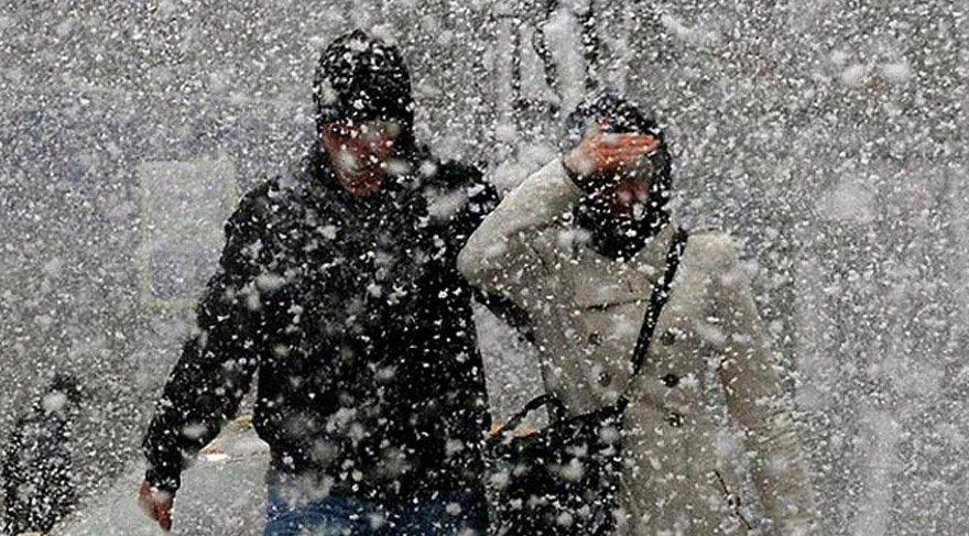 AKOM İstanbul'da kar yağışı için tarih verdi