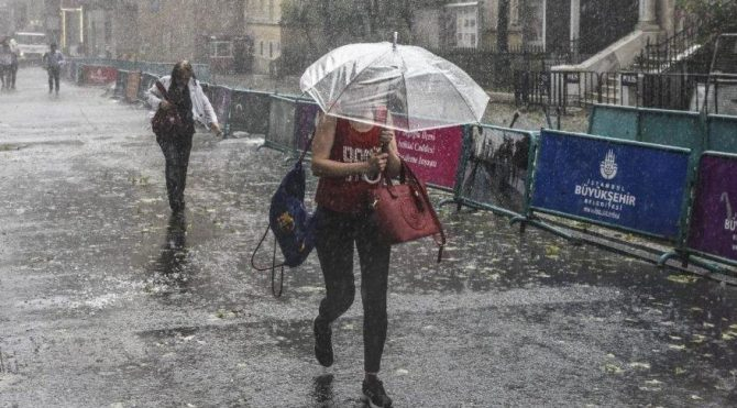 AKOM, İstanbul'daki yağış miktarını açıkladı