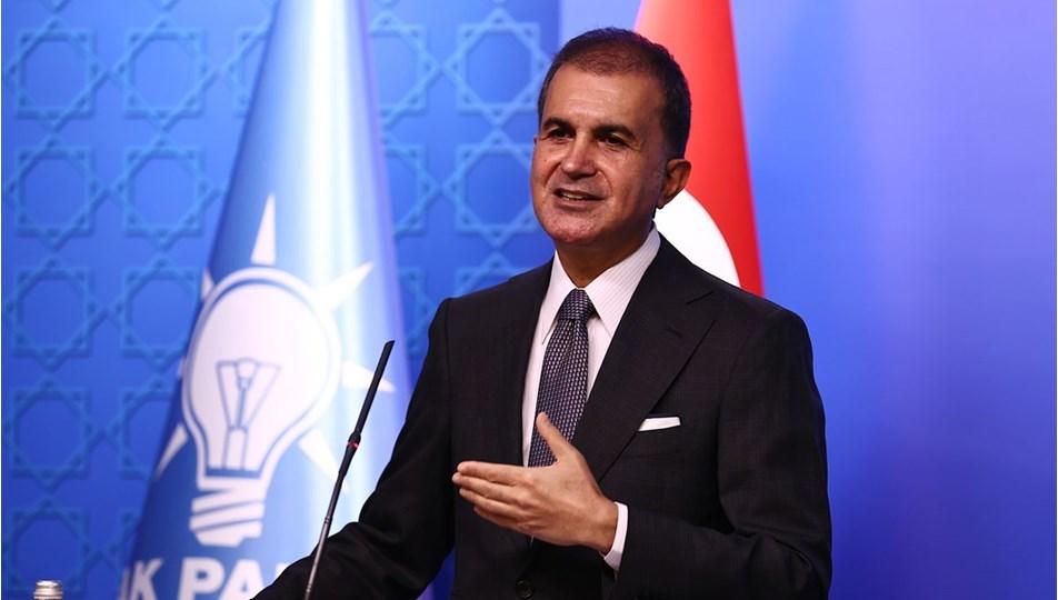 AKP Sözcüsü Çelik: Suriye'de kalıcı barış için siyasi çözüm üretilmelidir