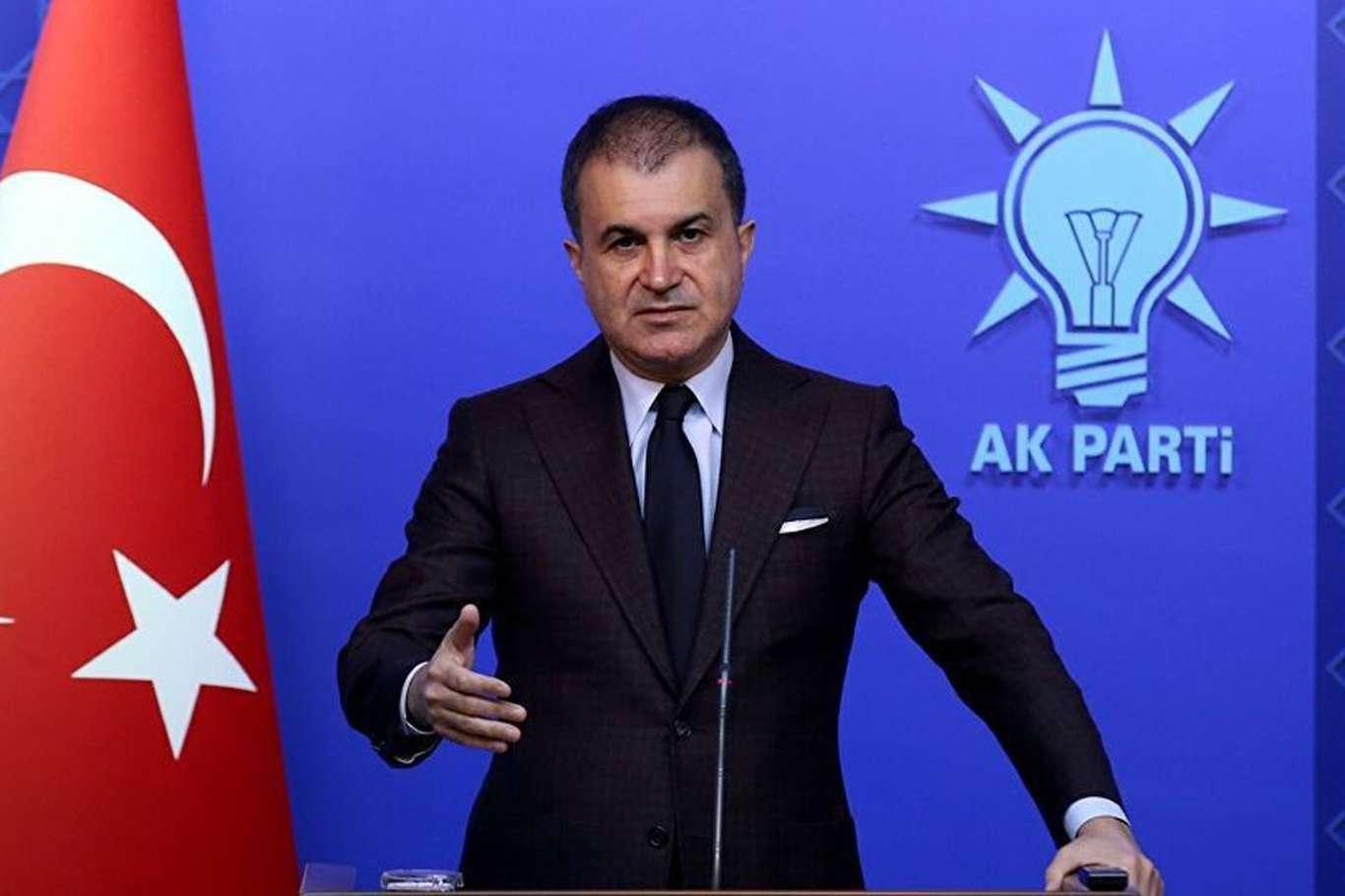 AKP Sözcüsü Ömer Çelik: Türkiye bir göçmen kampı değildir