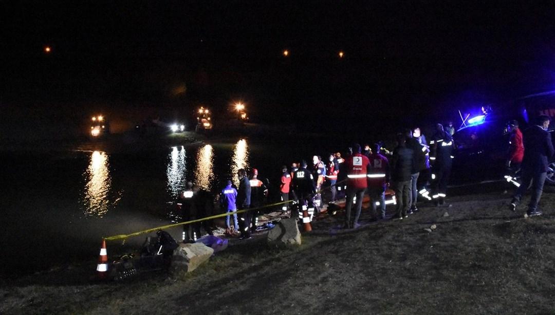 Aksaray'da baraj gölüne giren 2 çocuktan kötü haber