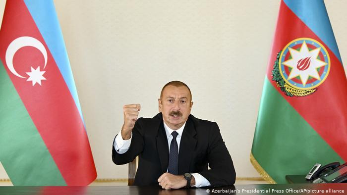 Aliyev: Bu insanlığa karşı cinayettir, onların cezasını vereceğiz