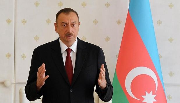 Aliyev: Karabağ'da 16 yerleşim kontrol altına alındı