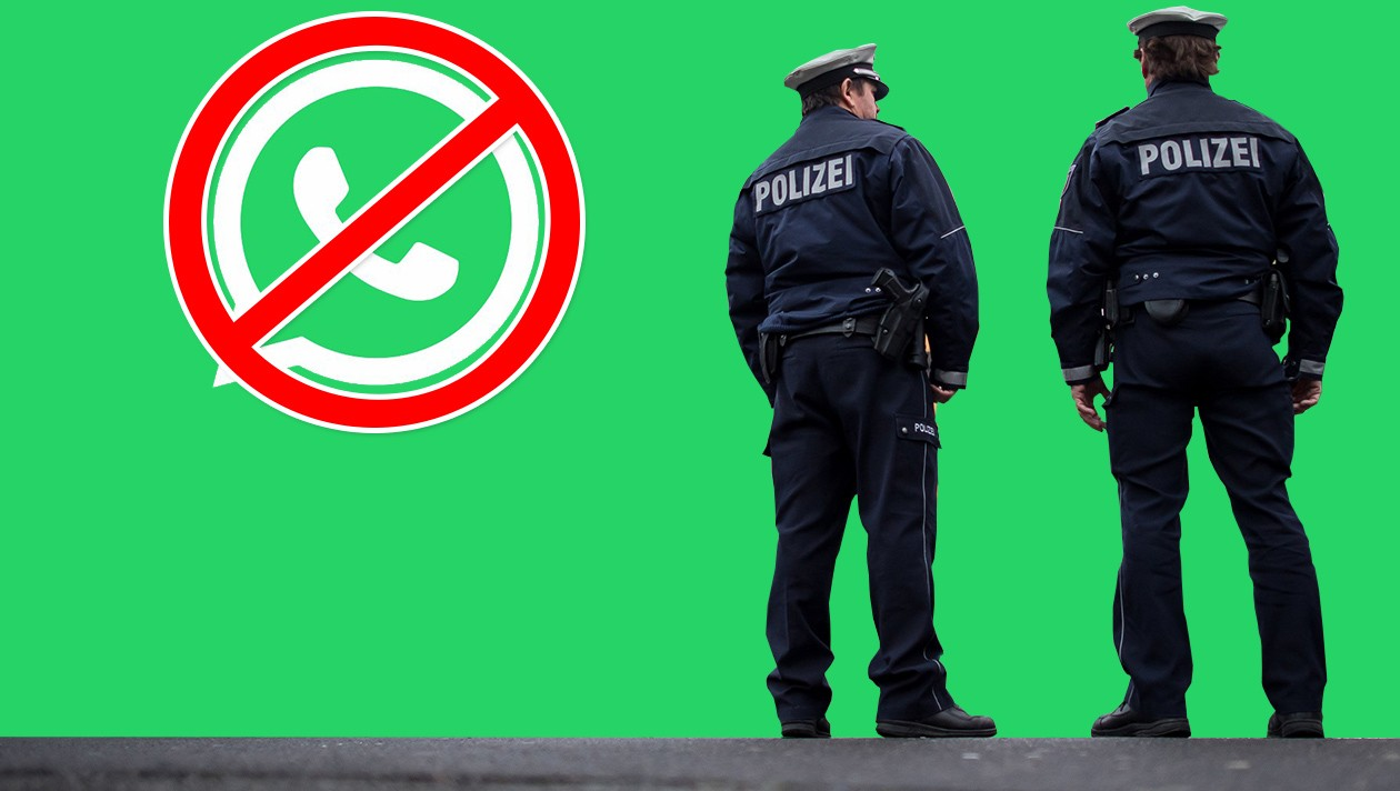 Alman polisi WhatsApp mesajlarına ulaşabiliyor