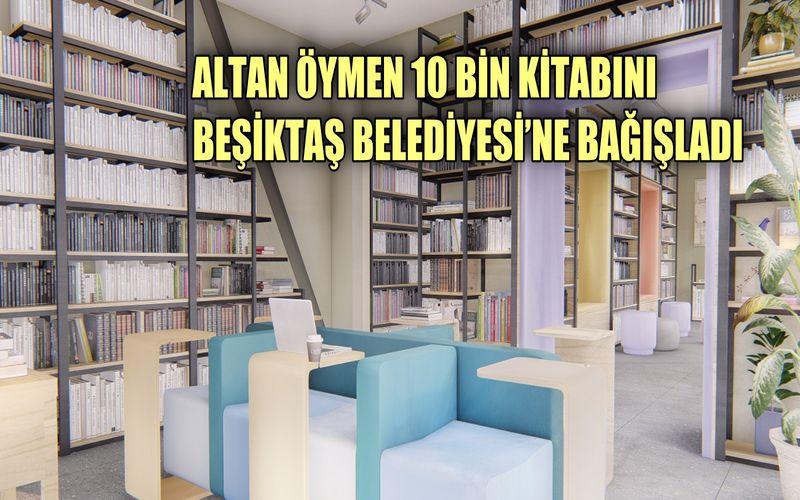 Altan Öymen 10 bin kitabını ve arşivini Beşiktaş Belediyesi'ne bağışladı