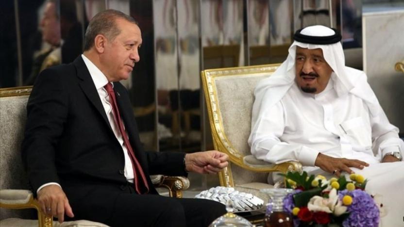Ambargo sonrası Suudi Arabistan ile ilk görüşme