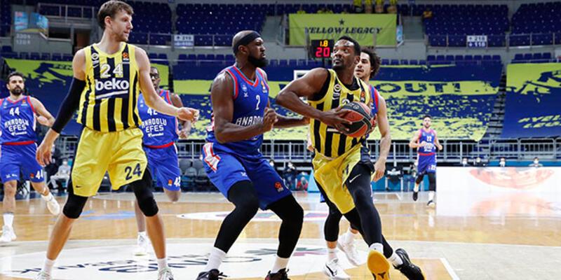 Anadolu Efes ve Fenerbahçe'nin Euroleague eşleşmeleri belli oldu
