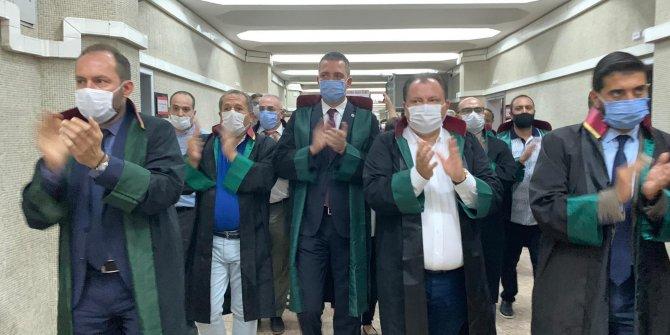 """Ankara Adliyesi'nde """"çoklu baro"""" eylemi"""