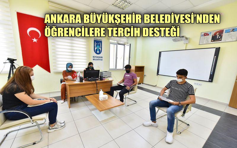 Ankara Büyükşehir'den öğrencilere tercih desteği