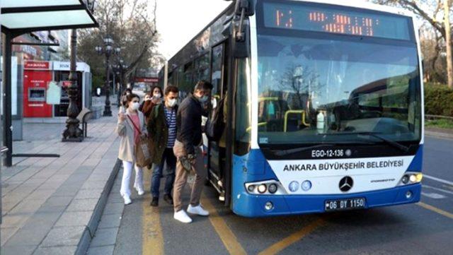 Ankara'da toplu taşıma araçlarında HES kodu zorunluluğu