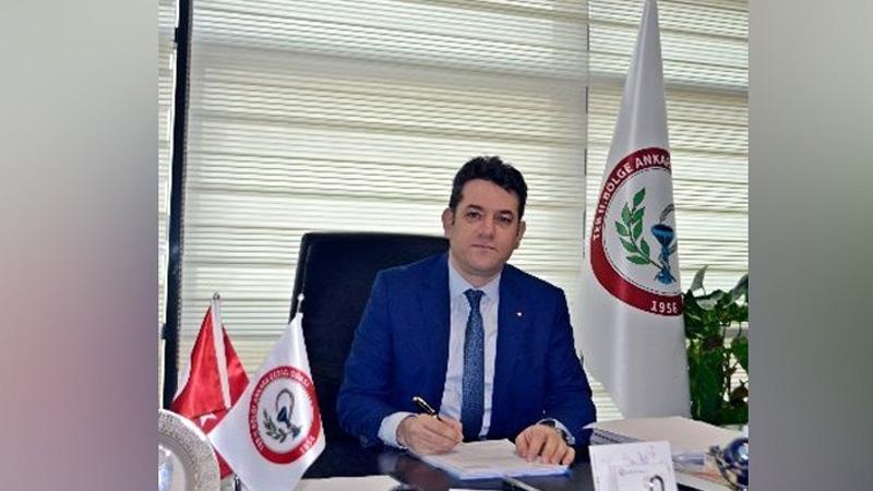 Ankara Eczacı Odası Başkanı Ercanlı'nın Koronavirüs test sonucu pozitif çıktı