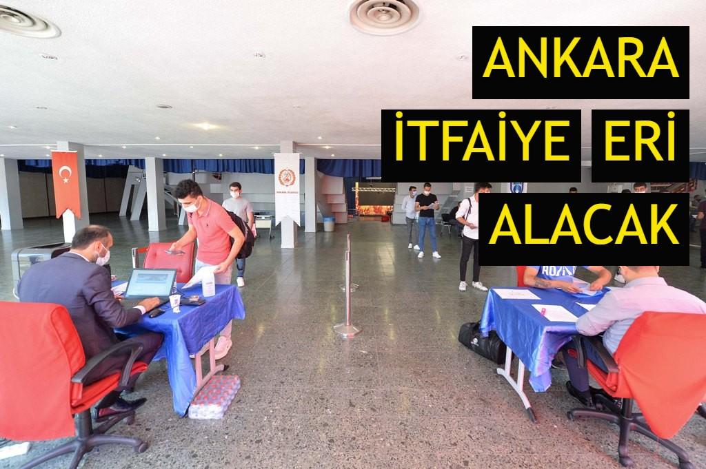 Ankara itfaiye eri alacak